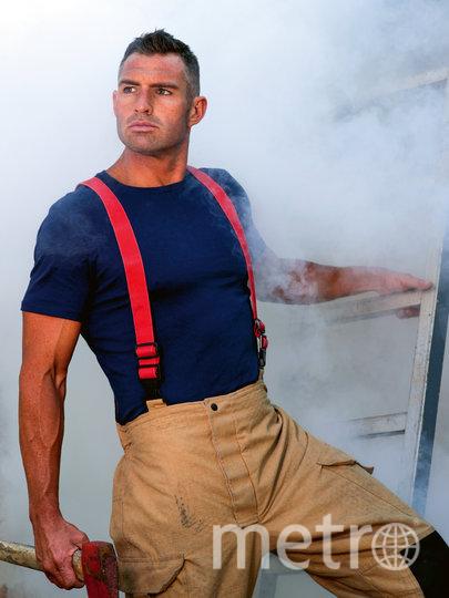 Роб. Фото David Rogers | Australian Firefighters Calendar-2021
