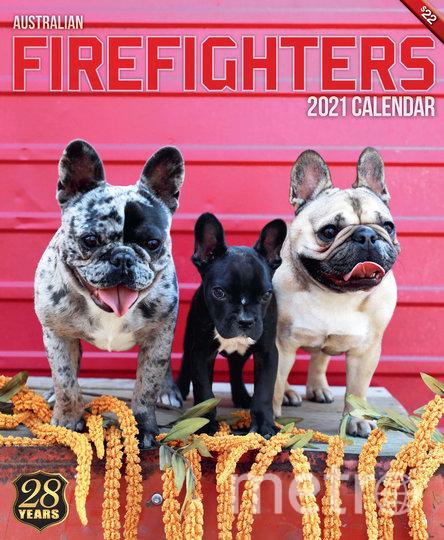 В этом году также выпустили календарь для любителей животных. Фото David Rogers | Australian Firefighters Calendar-2021