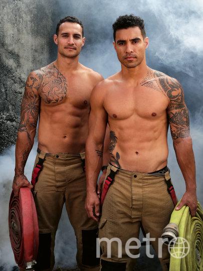 Ллойд и Мэл. Фото David Rogers | Australian Firefighters Calendar-2021