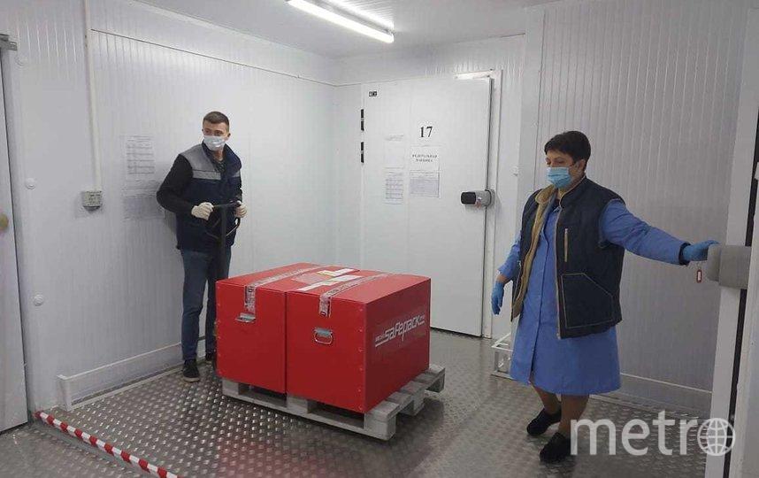 400 доз препарата поступили на Центральную фармацевтическую базу. Фото комитетом по здравоохранению