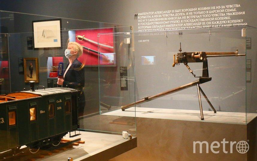 Американский пулемёт «Максим». В 1888 году Александр III стрелял из него на испытаниях в манеже Аничкова дворца. Фото Василий Кузьмичёнок