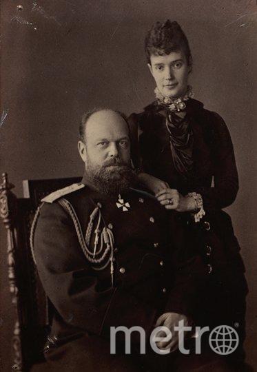 Александр III и его супруга Мария Фёдоровна. Фото предоставлено пресс-службой исторического музея