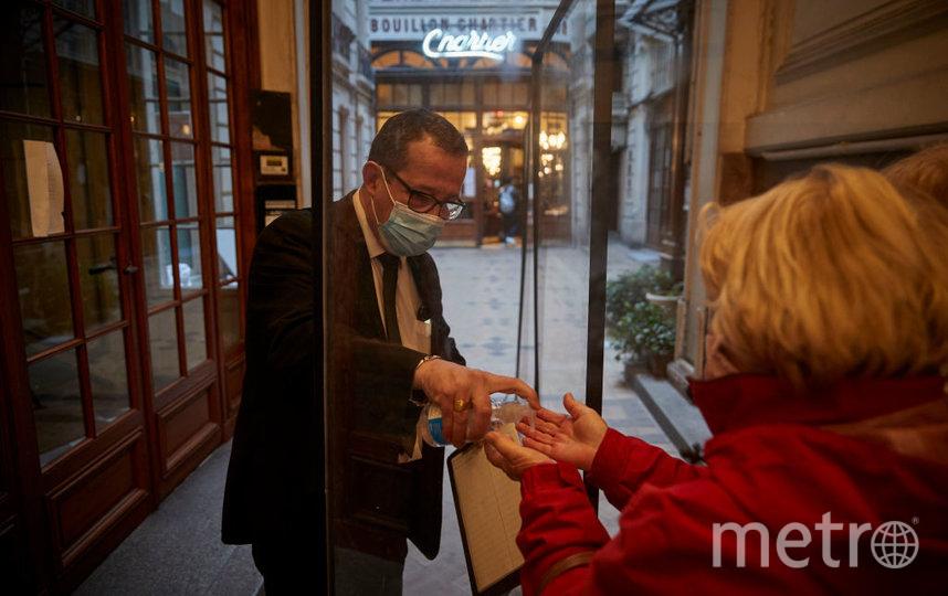 За последние семь дней во Франции были госпитализированы более 6,5 тысяч заболевших. Фото Getty