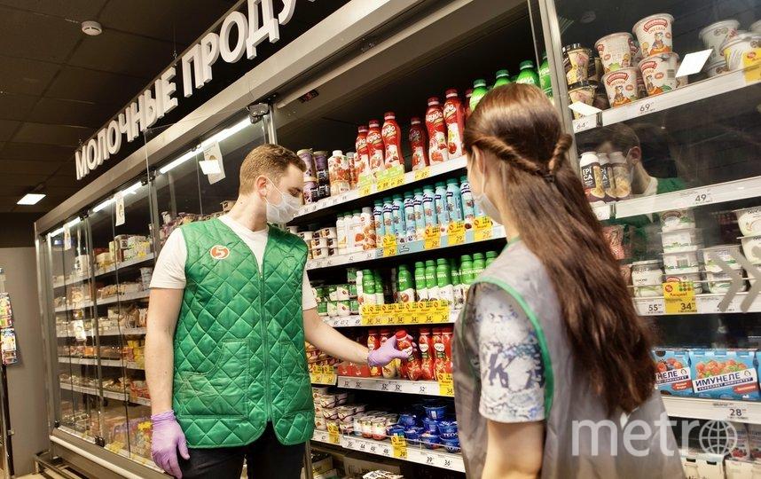 """Россияне стали чаще заказывать еду из магазинов на дом. Фото Пресс-служба """"Х5 Retail Group"""""""