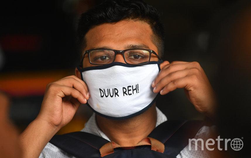В Индии из-за коронавируса также введены ограничительные меры. Фото AFP