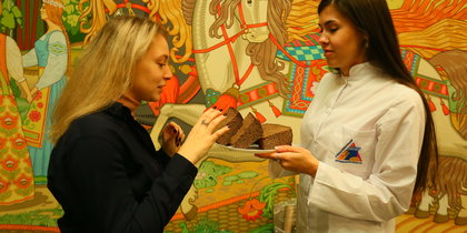 В Москве испекли блокадный хлеб