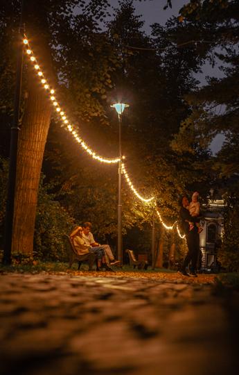 """Лядской сад привлекает прохожих спокойствием. Фото Иванов Роман (itsrawman), """"Metro"""""""