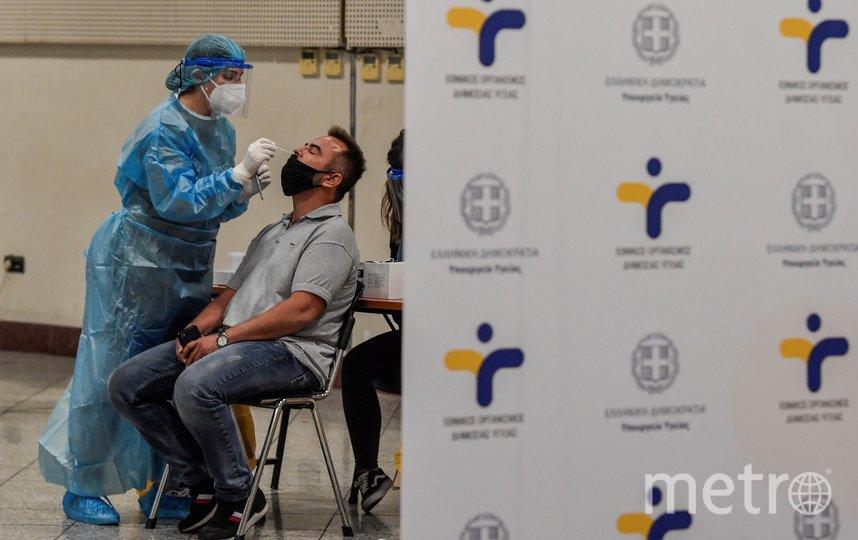 Ситуация с коронавирусом в Греции продолжает оставаться напряжённой. Фото AFP