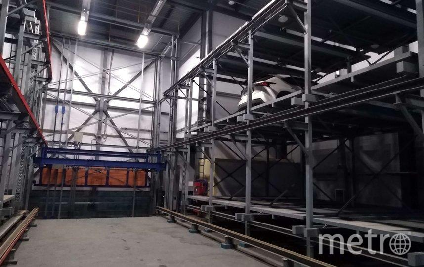 Стеллажный автоматизированный паркинг ЖК Империал Компании Л1.
