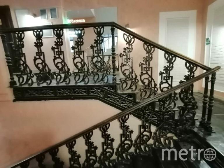 Лестницу пока оставят на месте. Фото www.instagram.com/radarusskikh