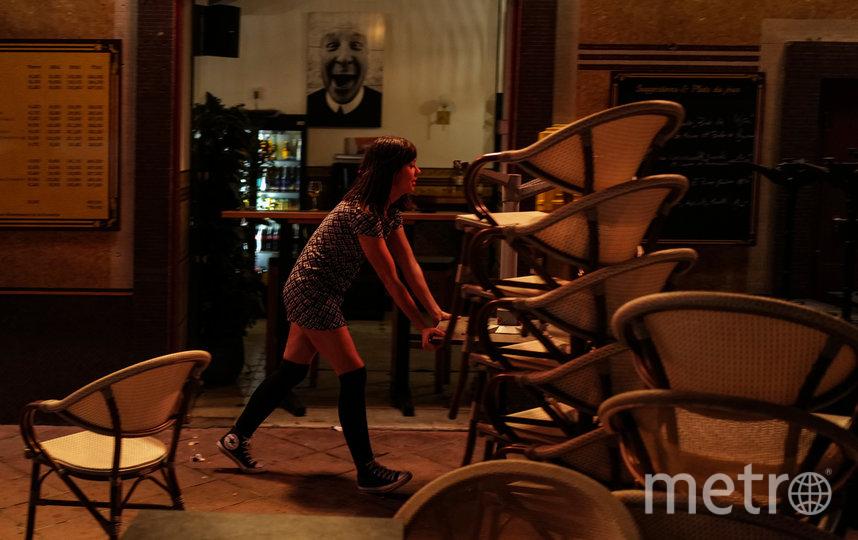 Улицы французских городов временно опустели из-за вируса. Фото AFP