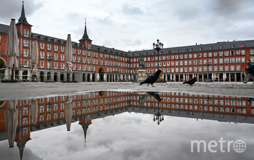 Испанские улицы пока не наполнены туристами из-за вируса. Фото AFP
