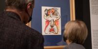 На выставке в Петербурге покажут любовные письма и рисунки Федерико Феллини