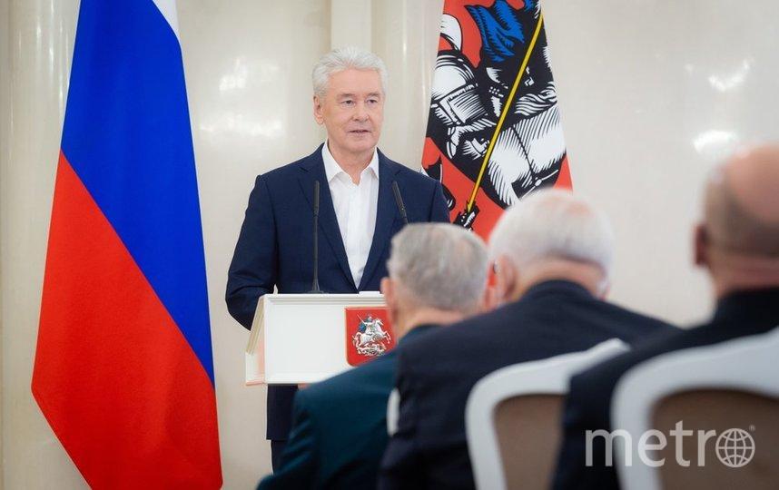 Сергей Собянин. Фото Денис Гришкин, пресс-служба мэра и правительства Москвы