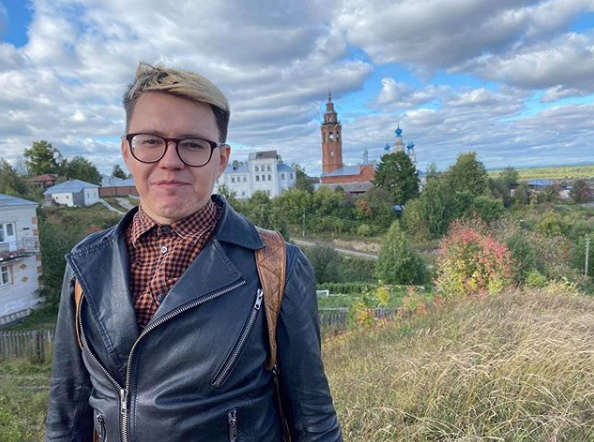 Павел Гнилорыбов. Фото страничка Павла Гнилорыбова в Instagram