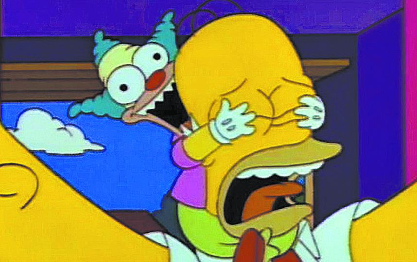 """""""Симпсоны"""". Фото скриншот, Скриншот Youtube"""