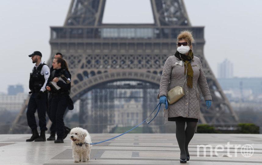 В ночь на 30 октября Франция ввела повторный режим самоизоляции на фоне роста числа заболевших вирусом COVID-19. Фото Getty