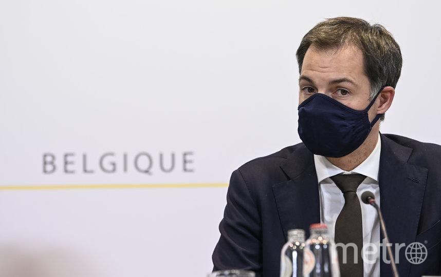 Премьер-министр Бельгии Александер Де Кроо. Фото AFP
