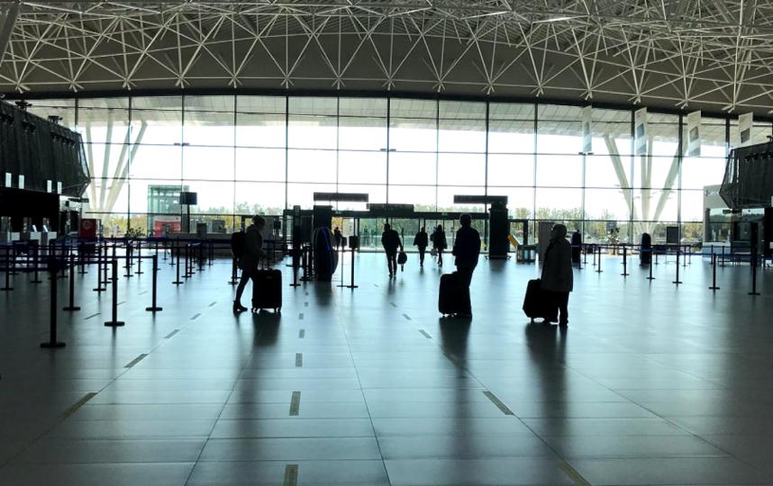 """В аэропорту Загреба очень малолюдно. Фото """"Metro"""""""