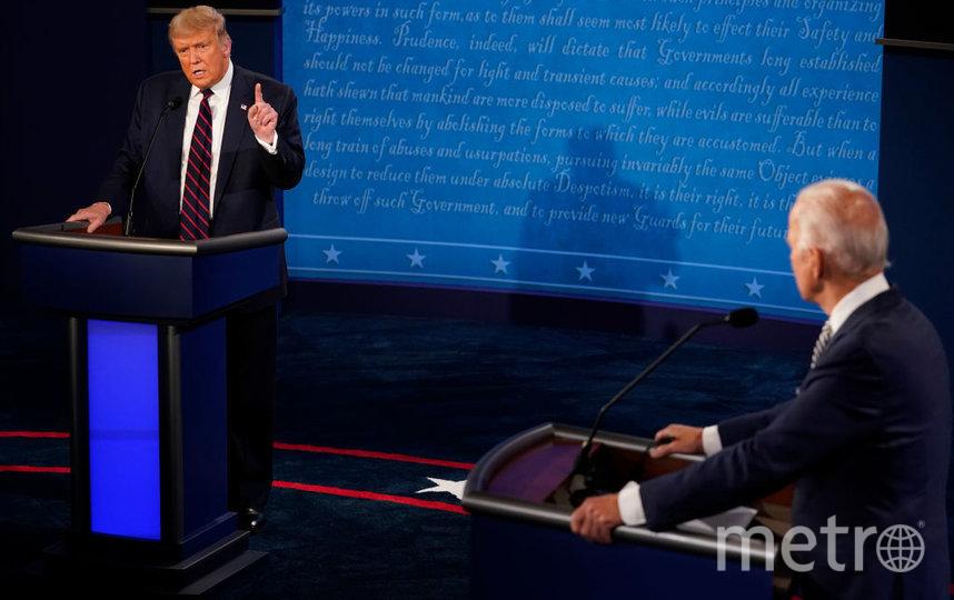 Трамп и Байден претендуют на пост президента США. Фото Getty