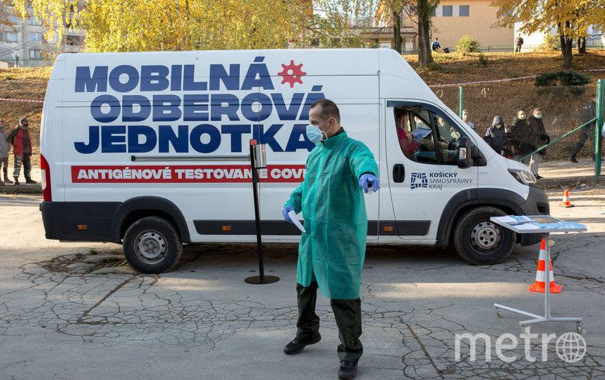 В Словакии тестируют всех. Фото Getty