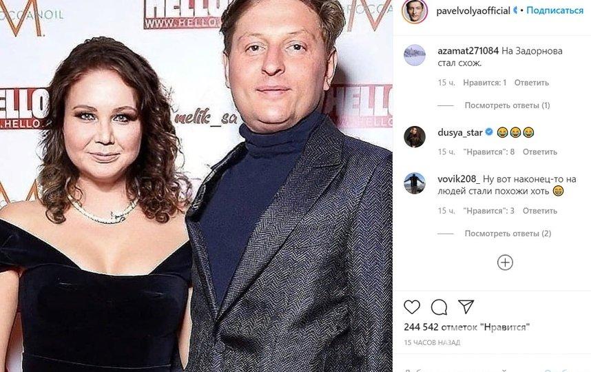 Подписчики оценили шутку Павла Воли. Фото instagram.com/pavelvolyaofficial.