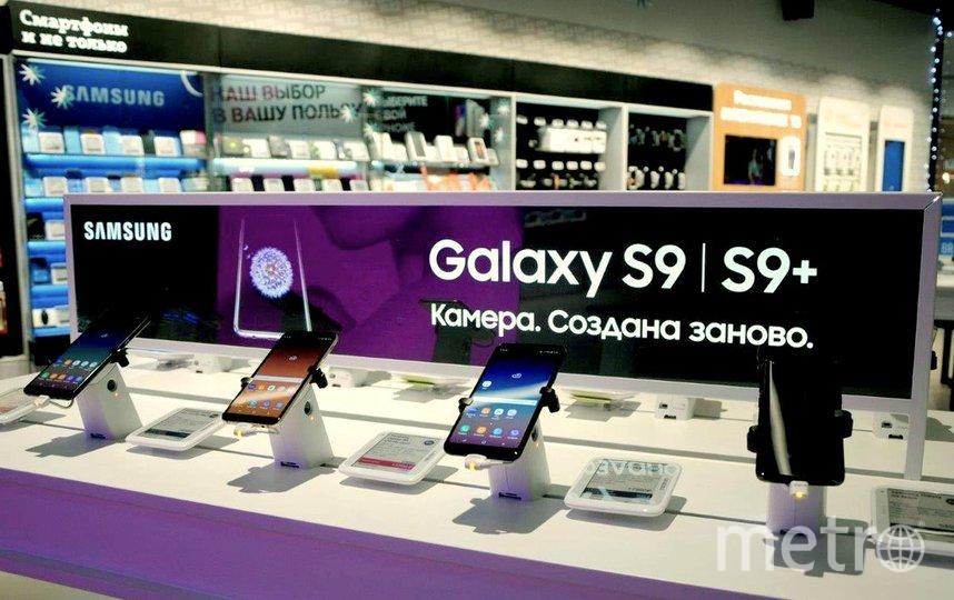 Tele2 активно наращивает представленность устройств Samsung в своей розничной сети. Фото предоставлено Tele2