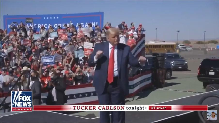 Кто же победит - Дональд Трамп или Джо Байден. Фото скрин-шот, Скриншот Youtube