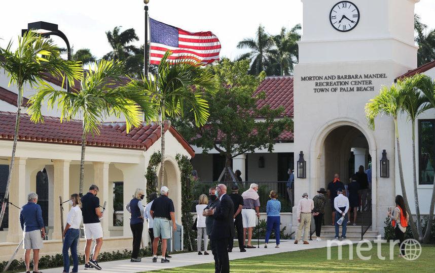 Выборы в США начались. Флорида. Фото Getty