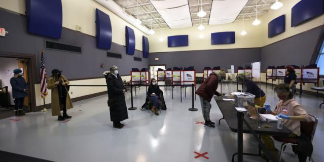 Выборы в США начались. Портленд.
