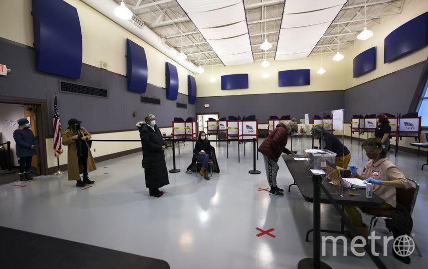 Выборы в США начались. Портленд. Фото Getty