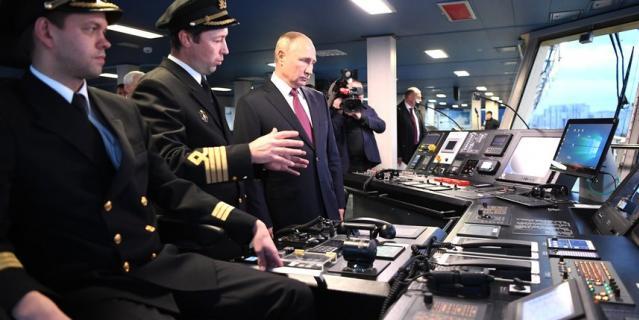 Путин 3 ноября побывал в Петербурге.