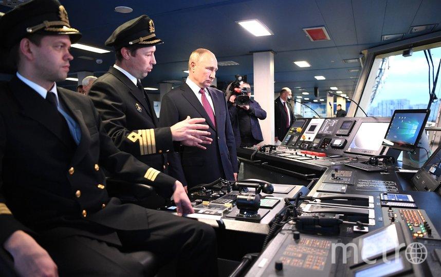 "Путин 3 ноября побывал в Петербурге. Фото https://www.gov.spb.ru/, ""Metro"""
