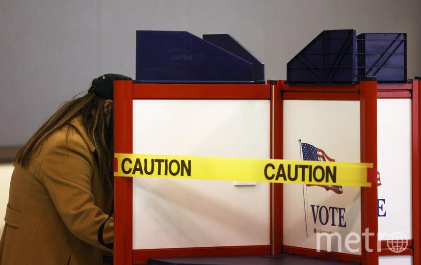 Подсчет голосов продолжается. Фото Getty