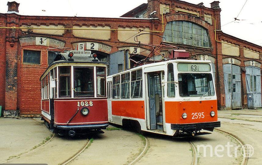 Василеостровский трамвайный парк № 2. Фото соцсети