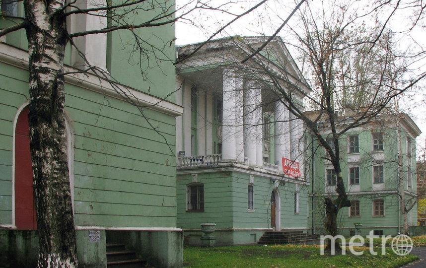 Здание Медсанчасти завода им. Калинина. Фото соцсети