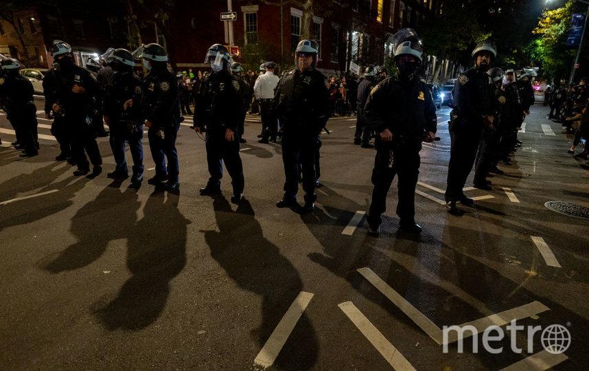 Протесты в Нью-Йорке. Фото Getty