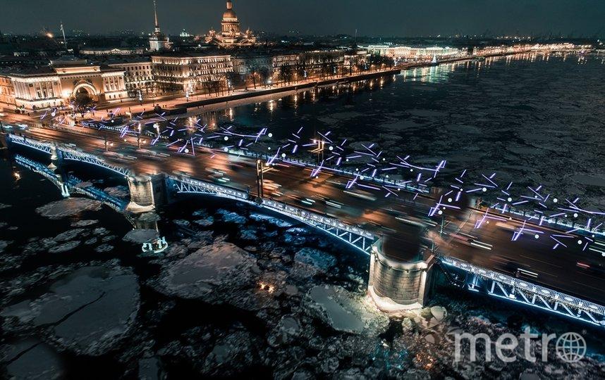 В совершенно новом стиле будет украшен Дворцовый мост. Фото Комитет по печати и взаимодействию со СМИ.