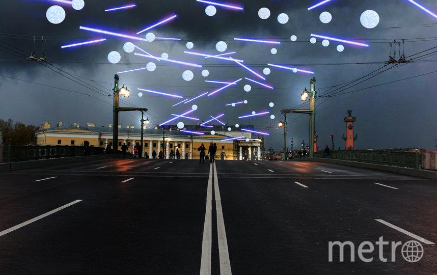 Дворцовый мост. Фото Комитет по печати и взаимодействию со СМИ.