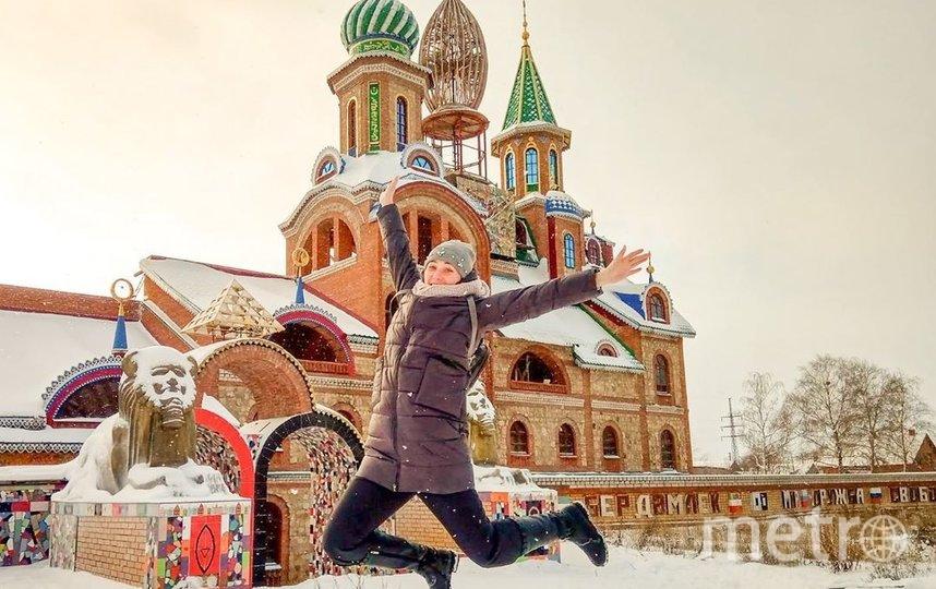 А так выглядит Новый год в Казани. Фото Instagram @lana_land_lalala
