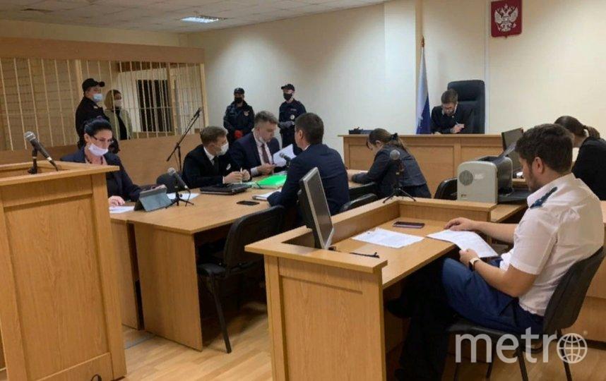 По решению суда, Кохал будет находиться в СИЗО до 30 декабря. Фото Объединенная пресс-служба судов Петербурга.