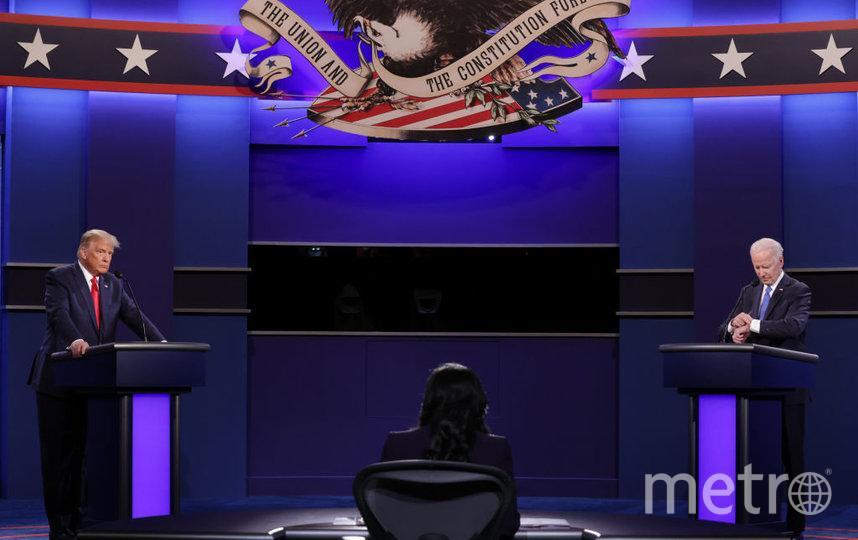 Дональд Трамп и Джо Байден. Фото Getty
