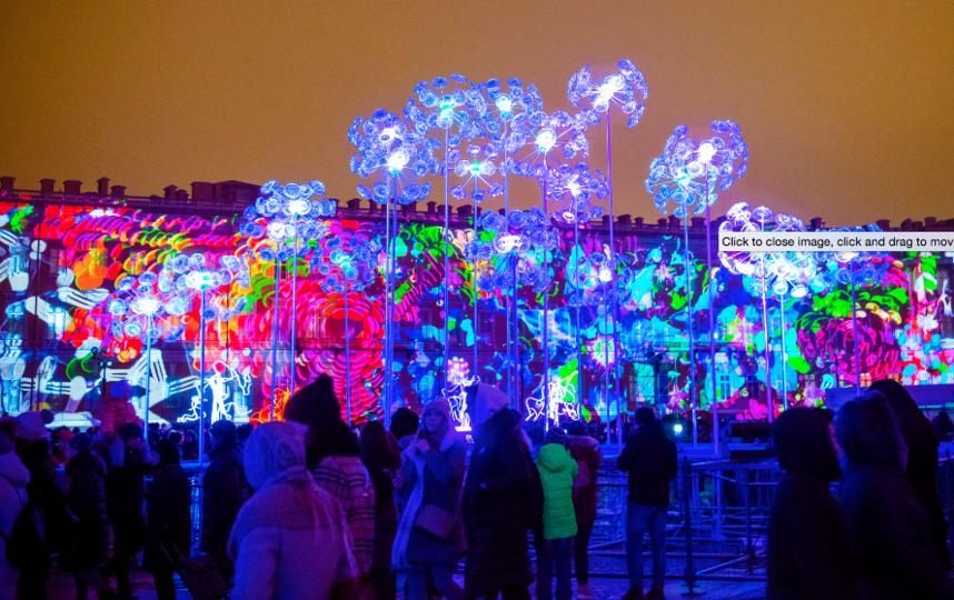 В прошлом году шоу было на Дворцовой площади. Фото Предоставлено организаторами