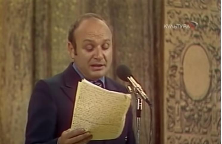 Михаил Жванецкий. Фото Скриншот Youtube