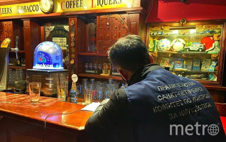 В Петербурге прошел масштабный рейд по барам. Фото ККИ.