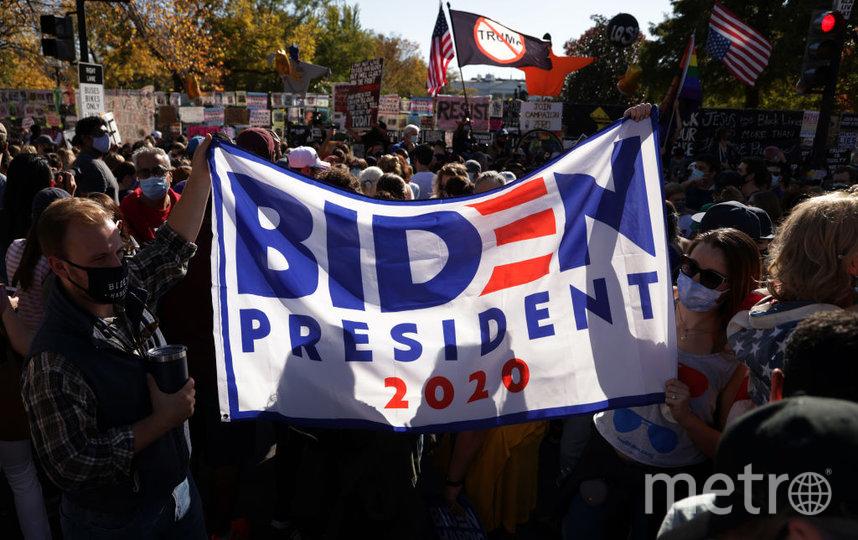 В Вашингтоне на улицы вышли тысячи людей. Фото Getty