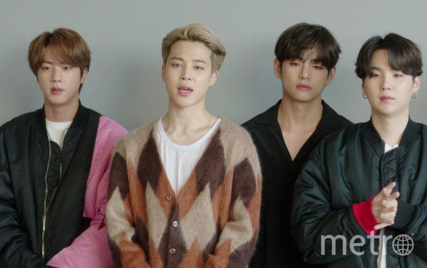 MTV EMA 2020 года. BTS. Фото Getty