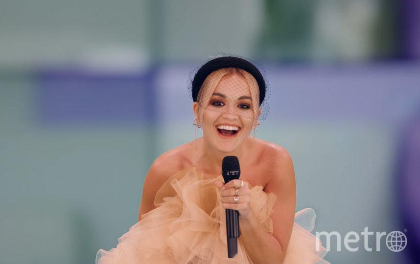 MTV EMA 2020 года. Рита Ора. Фото Getty