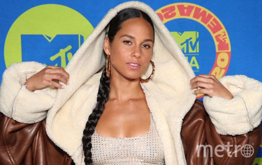 MTV EMA 2020 года. Алиша Киз. Фото Getty