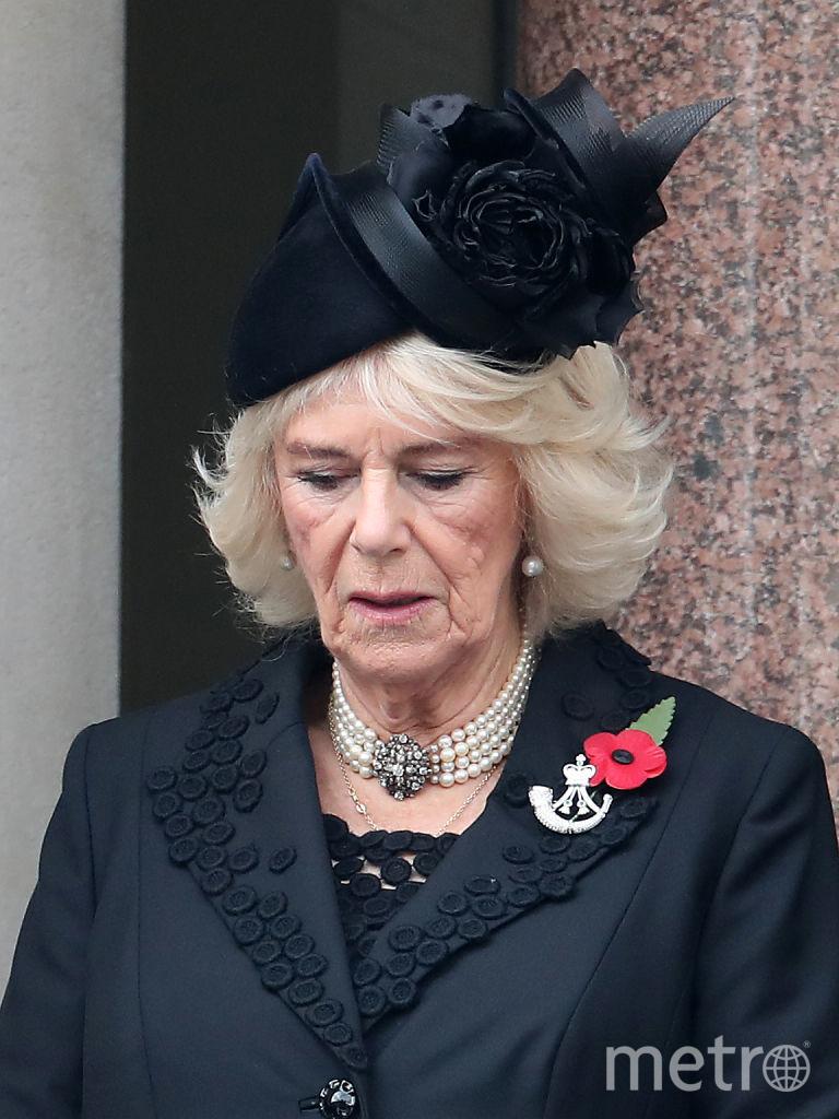 День поминовения павших в Британии. Супруга принца Чарльза. Фото Getty